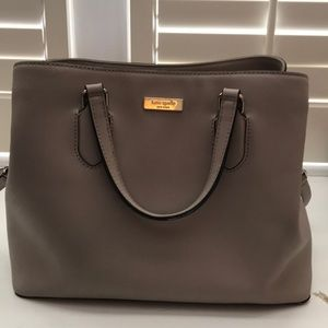 Kate Spade Purse in light grey/taupe